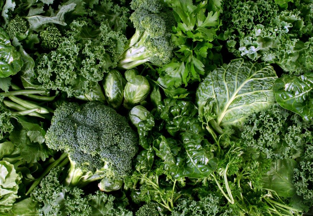 Leafy greens for your teeth