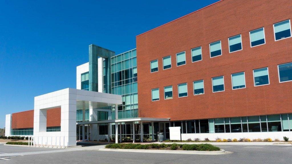 Modern medical center